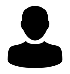 User Icon - Man - Profile - Human - Person Avatar vector