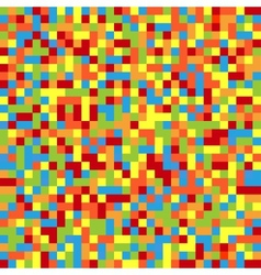 Colorful pixelated background vector image