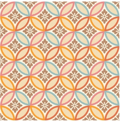 seamless japanese style fabric pattern vector image vector image