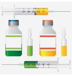 Vaccination vector image vector image