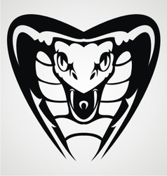 Cobra Head Tribal vector image