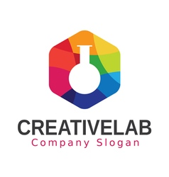 Creative Lab Design vector