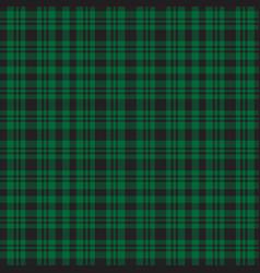 Green plaid tartan checkered seamless pattern vector