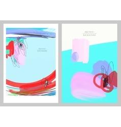 Original artistic abstract creative universal vector