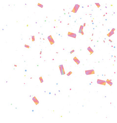 rainbow effect holographic background vector image