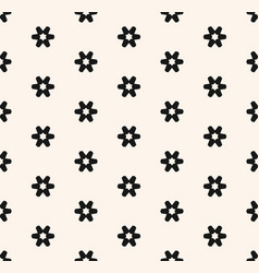 xmas christmas floral dots snow seamless pattern vector image