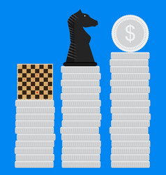 strategies for making money vector image