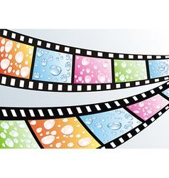 a film strip vector image vector image