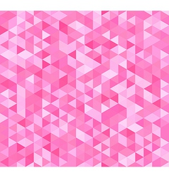 Colorful seamless pattern with triangles vector image vector image