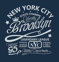 sport t-shirt graphics vector image vector image