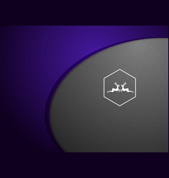 abstract purple on gray background vector image