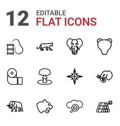 Big icons vector