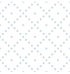 blue and white minimalist seamless pattern vector image