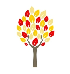 Cartoon Tree Apple vector image