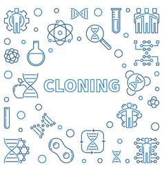 Cloning minimal concept in vector