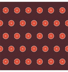 Flat Background Pattern Music Vinyl Record Disc vector image