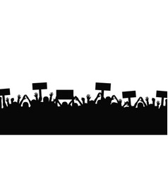 protest and strike demonstration and revolution vector image