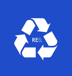 Reuse reduce recycle conscious consumption vector