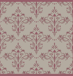 seamless antique ornament vector image