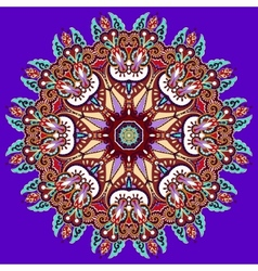 Violet colour mandala vector