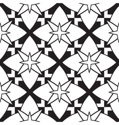 Stars pattern vector image