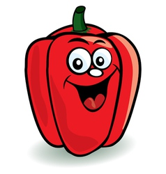 pepper character vector image vector image