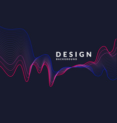 abstract background with a colored dynamic vector image