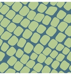 Seamless green pattern with paving stones vector