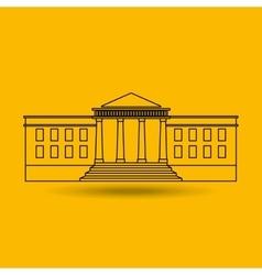 White house design vector