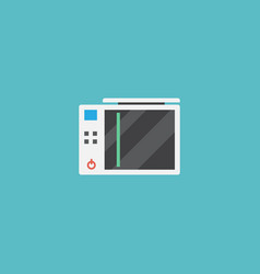 flat icon game console element vector image vector image