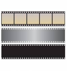 the collection of photographic film vector image