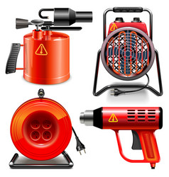Thermal Power Tools vector image