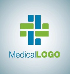 MEDICAL LOGO 14 vector image vector image