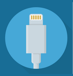 usb power data cable vector image