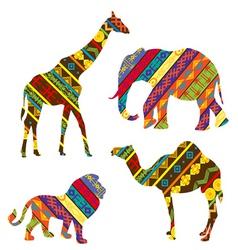 African animals vector