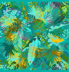 artistic summer grunge seamless pattern vector image