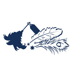 australian dusted feather super store vector image