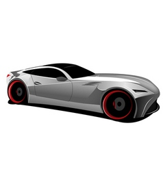 concept car vector image