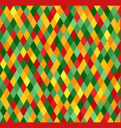 Diamond pattern seamless lozenge background vector