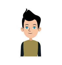 man character male avatar people icon vector image