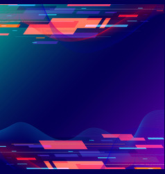 Template abstract technology geometric and twist vector