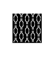 wallpaper black icon sign on isolated vector image