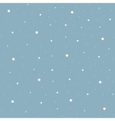 Heavy snowfall background vector image