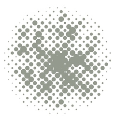 Halftones vector image vector image