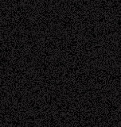 Black Pixelated Texture vector image