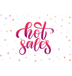 Calligraphy phrase hot sales for banner ico vector