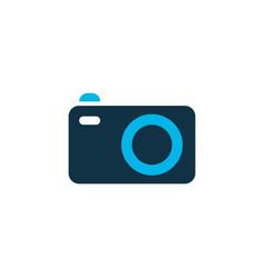 camera icon colored symbol premium quality vector image