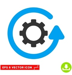 Gearwheel Rotation Direction Eps Icon vector