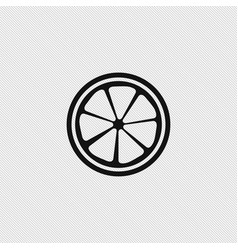 lemon icon simple vector image
