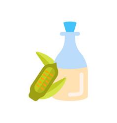 Sesame oil vector